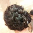 Rolled Braid With Crimped Hair
