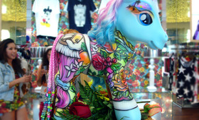 My Little Pony Meets Melrose Avenue