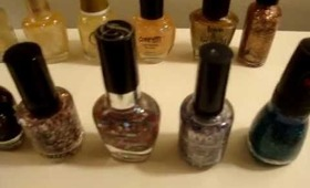 Glitter Nail Polish Collection