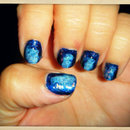 Starry Night Nails.