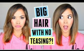 Big HAIR With No Teasing?! Volumizing Hair Tool TESTED!