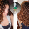 Natural curls, No products.