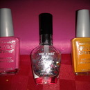 Wet and Wild Nail Polishes