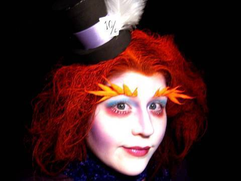 Tim Burton's Alice in Wonderland: Mad Hatter Makeup Tutorial
