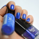 Sally Hansen Pacific Blue and Butter London Scouse