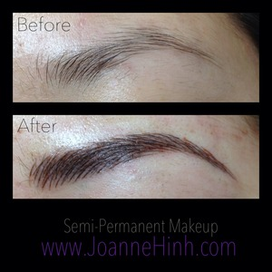 Joanne H. (joannehinh) - Hairstroke Brow Embroidery Gallery | Beautylish