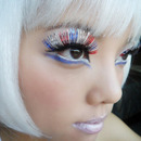Festive Fourth of July Lashes