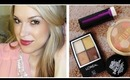 ❤ Drugstore Fall Makeup Tutorial! Golden Eyes + Berry Lips