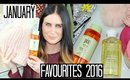 January Favourites 2016 - Cleansers, Converse & Colouring!