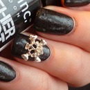 Leather effect nails
