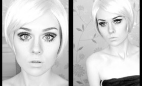 Twiggy 60's Mod Inspired Makeup Tutorial