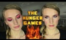 Jennifer Lawrence The Hunger Games Catching Fire Makeup Tutorial. Red Smokey Eyes Makeup.