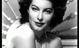 Beauty Icon : Ava Gardner inspired make-up tutorial