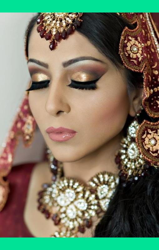 Indian Bride Makeup Rawda B S Photo Beautylish