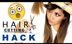★ Hair Cutting HACK that TOTALLY WORKS! How I Cut Layers at Home | Easy Hairstyles