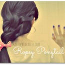 How to: the Ropey Ponytail Tutorial