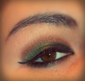 I do want to try this look again,but next time i'll make it more dramatic :)