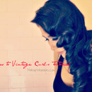 Kim Kardashian Inspired - Vintage Loose Waves/Curls Tutorial