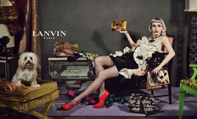 "Fairytale Come True: Lanvin Chooses ""Real"" People for Fall Campaign"