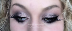 "Yes, on Thanksgiving I'd rather wear purple than bronzy colors go figure.  I was mainly inspired by the new Anastasia Beverly Hills pallet specifically with the shade ""Deep Purple""  I have a fullllllll description of this on my blog (: http://theyeballqueen.blogspot.com/2015/11/smokey-plum-makeup.html"