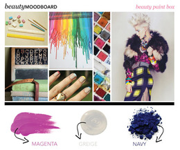 Beauty Mood Board: Beauty Paint Box
