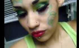 My Poison Ivy look