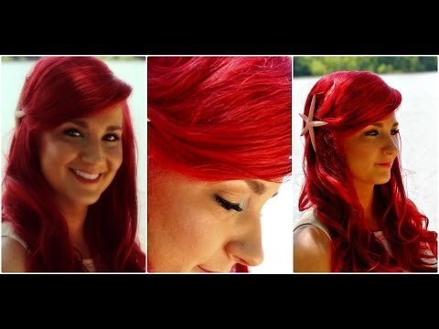 Ariel Little Mermaid Hair Color The Little Mermaid Hair