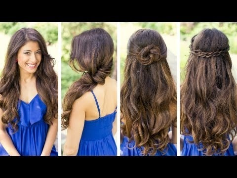 Cute  and Easy  Hairstyles  LuxyHair Video Beautylish