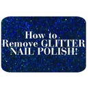 How to Remove Glitter Nail Polish!