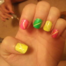 Neon Nails :)