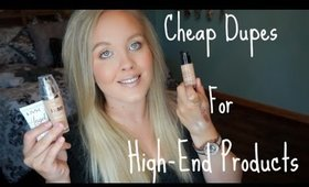 Cheap Dupes For High-End Products | Giorgio Armani, MAC and More