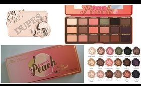 Clones de la Paleta de Too Faced Sweet Peach