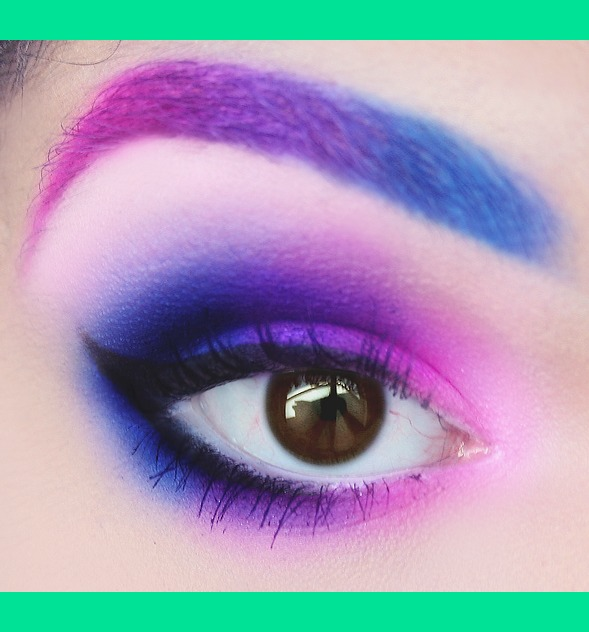 Pink Purple Blue Ombre | Drea L.'s (DreaAlGhul) Photo ...