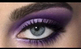 Ultraviolet Eyes: HD Makeup Tutorial