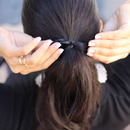 Simple Bow Ponytail