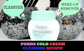 PONDS COLD CREAM CLEANSER REVIEW | SHEISDEETV