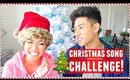 CHRISTMAS SONG CHALLENGE with JeffreyFever!
