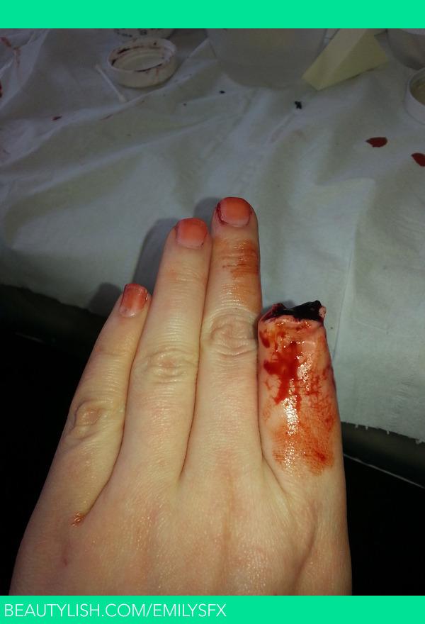 Missing Finger Emily G S Emilyjaynemakeup Photo