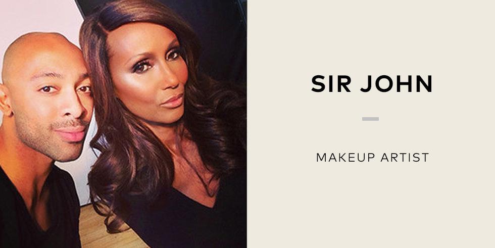 Sir john makeup