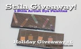 Stila Eye Palettes Giveaway!!!  Artful Eye Collector's Edition Vol I & III [Holiday Giveaway #6]