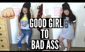 Good Girl to Bad Ass! | Mini Lookbook on How To Style Caseco Blu-Toque Hat!