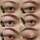 quick eyebrow pictorial