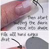 Tutorial: How to fix a broken fingernail by Honeymunchkin.com