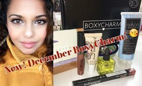 NEW!!  BoxyCharm Unboxing (December 2015)
