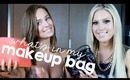 What's In My Travel Makeup Bag? ♡ ft. ChloeMorello!