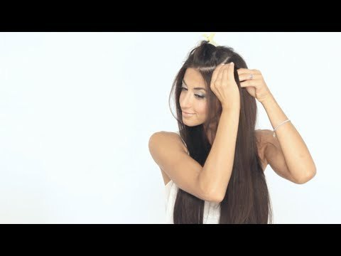 How to clip in luxy hair extensions luxyhair video beautylish how to clip in luxy hair extensions pmusecretfo Choice Image