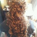 Half Up Do Prom Hair Style
