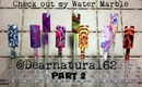 PART 2 | Water Marble Shout Out TUTORIAL