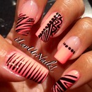 China Glaze Flip Flop Fantasy With A Zebra, Dots & Tribal Print Design