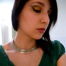 Loki inspired make up